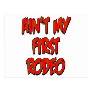 Aint mi primer rodeo postales