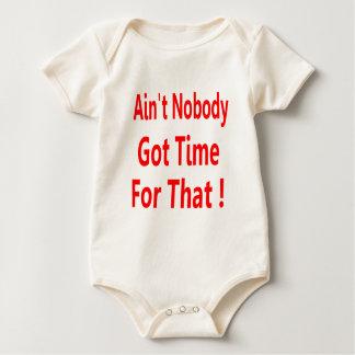 Aint nadie consiguió la hora para ese Brown dulce Body Para Bebé