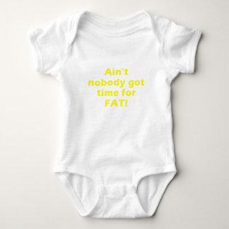 Aint nadie consiguió la hora para la grasa body para bebé