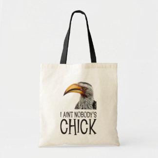 Aint nadie polluelo - divertido, pájaro feminista  bolsa tela barata