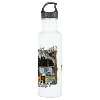 Ain't No Trash in my Trailer Water Bottle