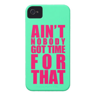 Ain't Nobody Got Time For That iPhone 4/4S Case