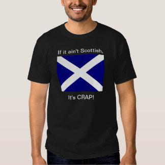 """Ain't Scottish, It's Crap!""""  Dark T Tee Shirt"""