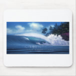 AIN'T TELLIN Surf Art by Steven Power Mouse Pad