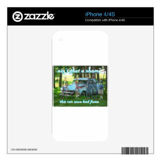 Ain't that a shame 51 Ford Skin For iPhone 4