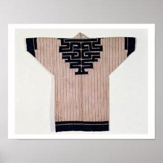 Ainu Coat, 19th century Posters