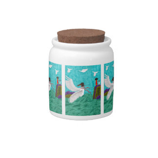 Aioga Candy Jar