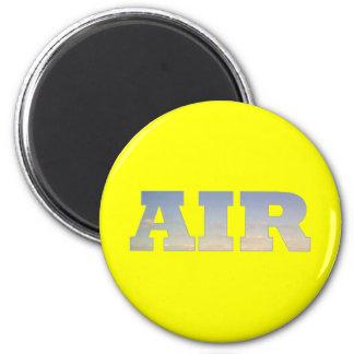 Air 2 Inch Round Magnet