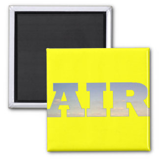 Air 2 Inch Square Magnet