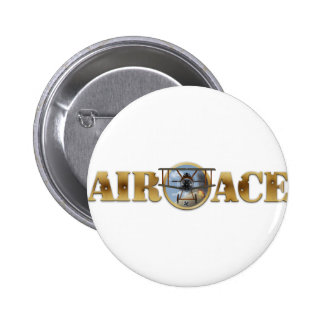 Air Ace Logo 2 Inch Round Button