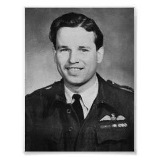 Air Aces: Wing Commander, Guy Gibson Poster