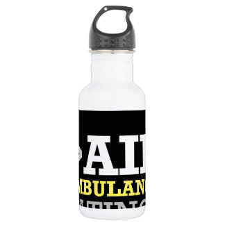 Air Ambulance and Medical Flight Company Ratings Water Bottle