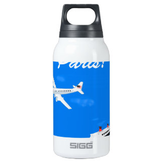 Air and ship Vintage Travel Insulated Water Bottle