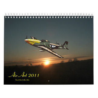 Air Art 2011, Original Artwork by B... Calendar