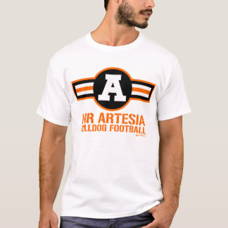 """Air Artesia"" Bulldog Football T-Shirt"