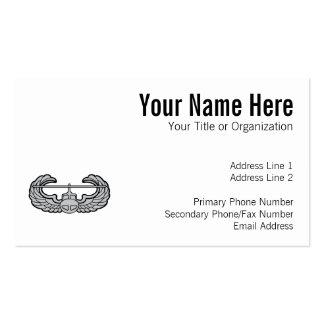 Air Assault Badge Business Card