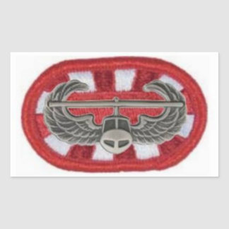 Air Assault Badge on 326th Engineer Oval Stickers