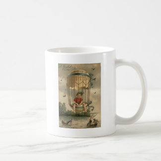 Air Balloon Easter Colored Painted Egg Duck Coffee Mug