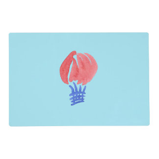 Air Balloon Placemat 12'' x 18''