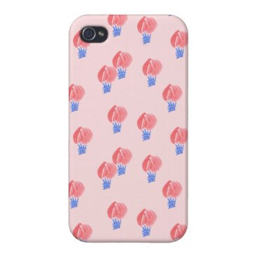 Air Balloons Glossy Case For iPhone 4