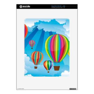 Air Balloons in the Sky 5 Decals For The iPad