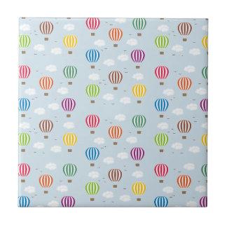Air Balloons Pattern Ceramic Tile