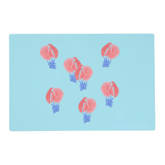 Air Balloons Placemat 12'' x 18''