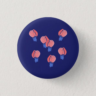 Air Balloons Small Round Button