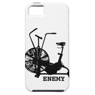 Air Bike Enemy - Black Silhouette iPhone SE/5/5s Case