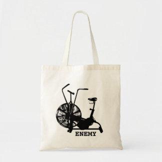 Air Bike Enemy Tote Bag