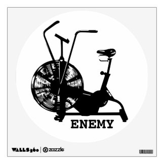 Air Bike Enemy Wall Sticker