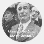 Air Biscuit Classic Round Sticker