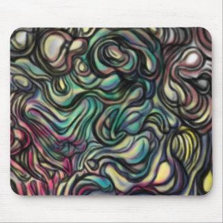 'Air Blob' abstract art Mousepad