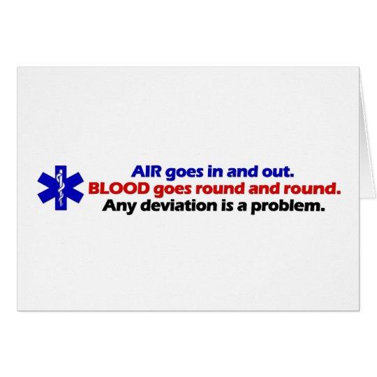 Air/Blood Card