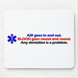 Air/Blood Mouse Pad