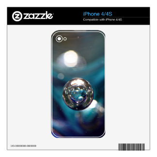 Air Bubble In Glass Skin For iPhone 4S