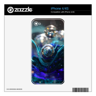 Air Bubble In Glass Skin For The iPhone 4