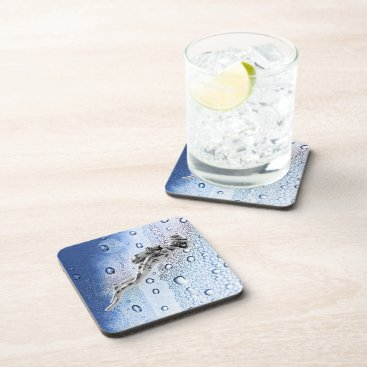 Beach Themed Air Bubbles Coaster