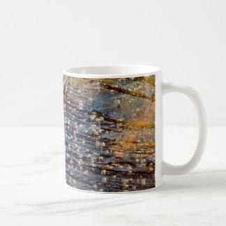 AIR BUBBLES TRAPPED BENEATH THIN ICE CLASSIC WHITE COFFEE MUG
