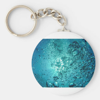 Air Bubbles Water Keychains
