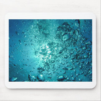 Air Bubbles Water Mouse Pad