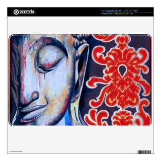 AIR BUDDHA cover skin for Mac Air Decal For The MacBook