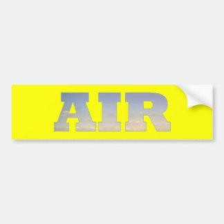 Air Bumper Sticker