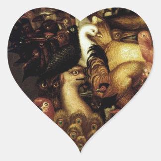 Air by Giuseppe Arcimboldo Heart Sticker