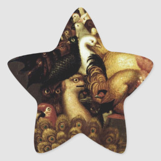 Air by Giuseppe Arcimboldo Star Sticker