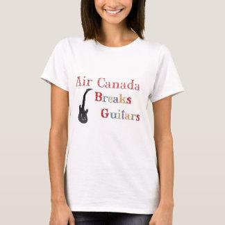 Air Canada Breaks Guitars T-Shirt