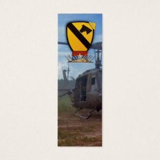 Air Cav Veterans Vets Vietnam War bookmarkers Mini Business Card