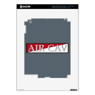 Air Cavalry Plaque iPad 3 Decal