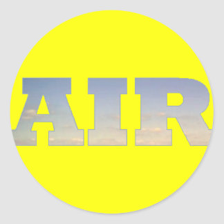 Air Classic Round Sticker