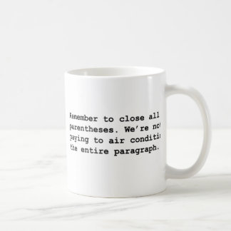 Air Condition Mug